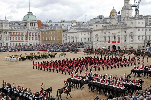 festivals in london, military display event in london