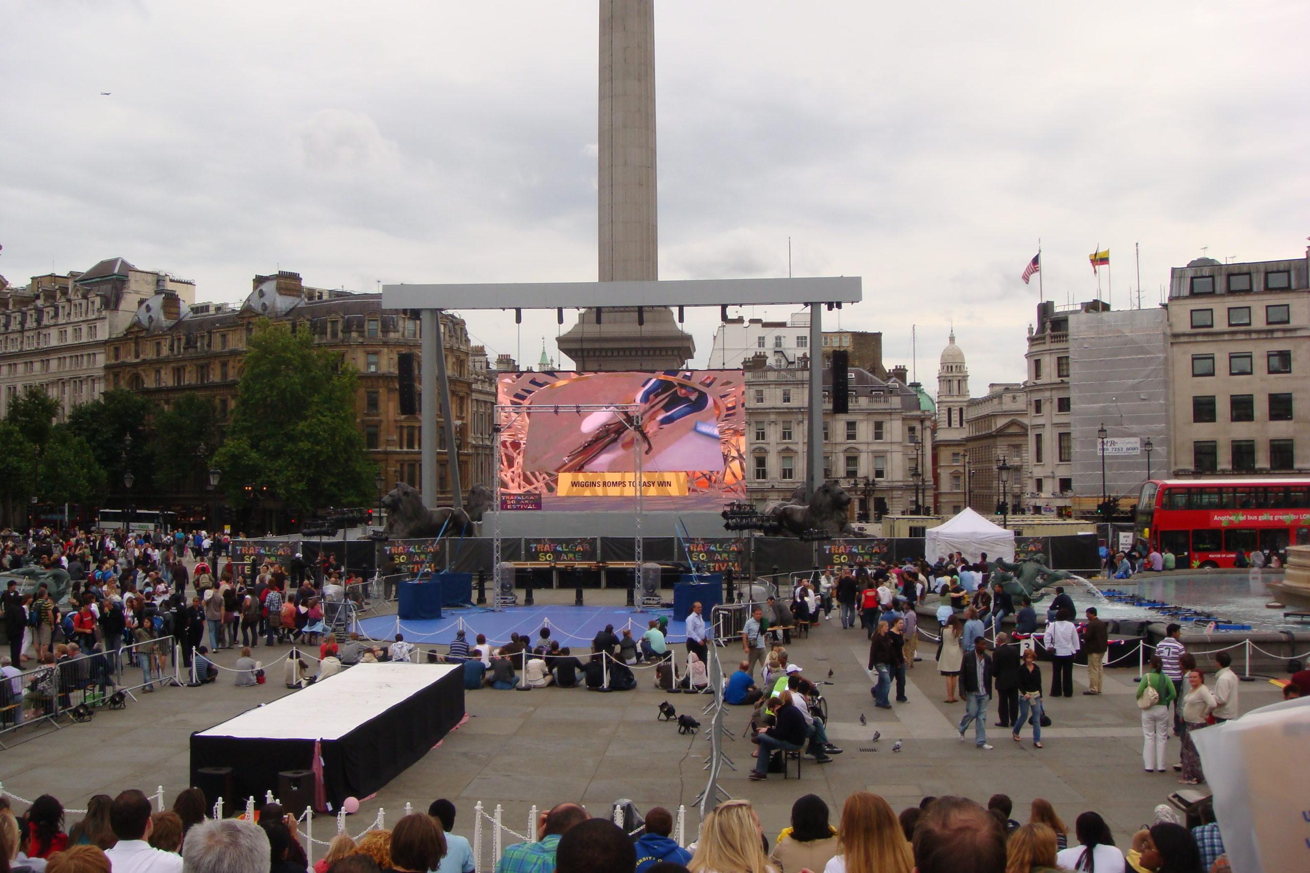 Trafalgar Square Festival, festivals in london
