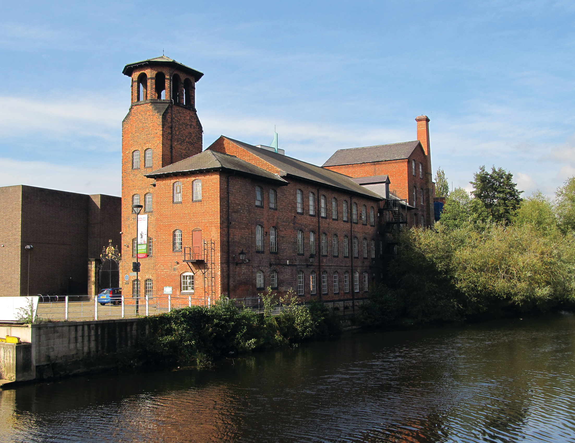 Lombe's Mill, History Of Derby