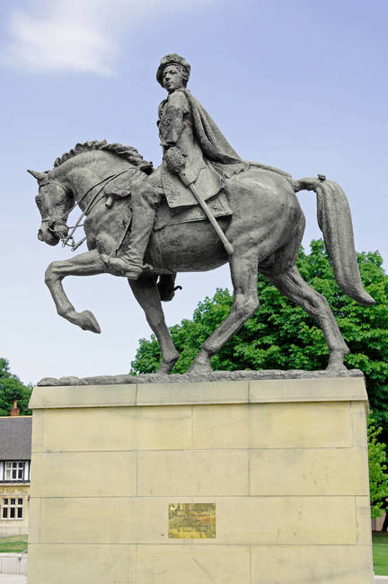 bonnie prince charlie, bonnie prince charlie statue, History Of Derby