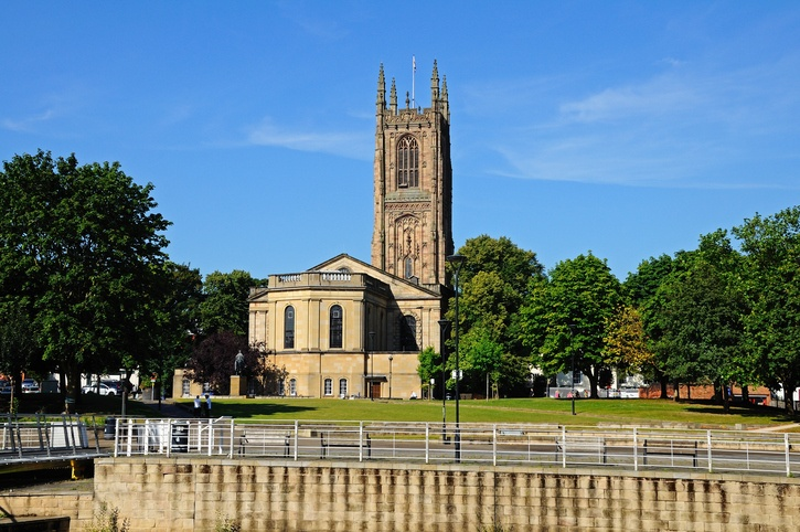 derby cathedral, cathedral, anglican cathedral, Anglican Cathedral derby histroy, History Of Derby