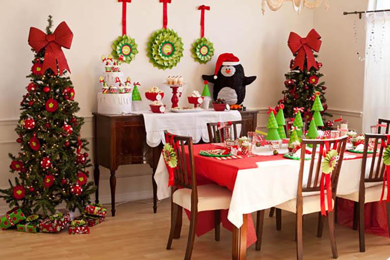Christmas Indoor Set up